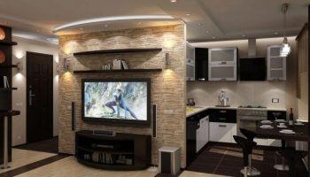 Дизайн в — хрущевке — (266 фото) современные идеи-2019 интерьера однокомнатной квартиры