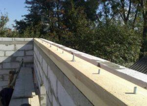 Армопояс в доме из газобетона – залог долговечности и надежности постройки