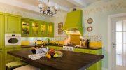 Отделка кухни плиткой и обоями (25 фото) особенности сочетания материалов