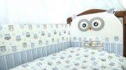 Бортики в детскую кроватку как выбирать защитные барьеры и подушки на кровать для детей Мягкий съемн