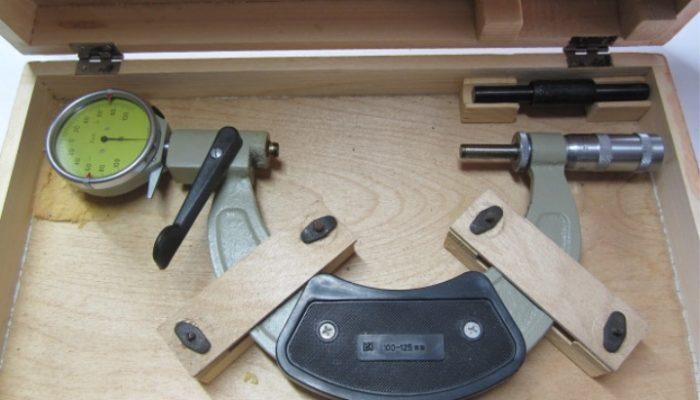 Рычажный микрометр ГОСТ 4381-87 для МР 0-25 и МР 25-50