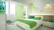Зеленая спальня (63 фото) дизайн интерьера с сочетанием темно-зеленых тонов, значение цвета