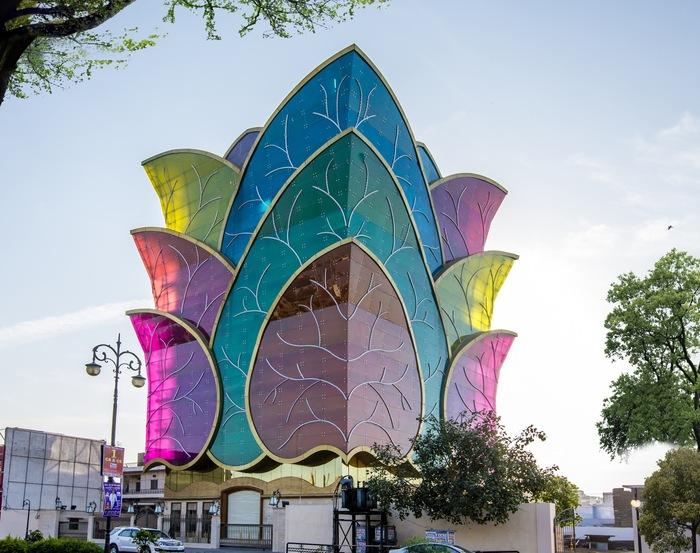 Цветной дом, Индия