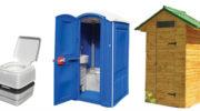Применение туалетных кабин