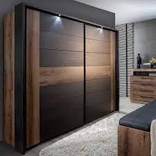 Комбинированные шкафы из дерева и металла